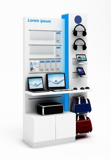 mebel ekspozycyjny dla HP
