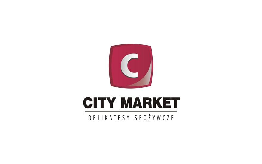Projekt logotypu dla City Market