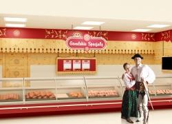 Projekt sieci sklepów wędliniarskich