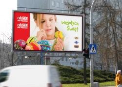 Billboard dla Społem