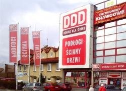 Reklama zewnętrzna dla sklepu Dobre Dla Domu