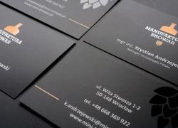 Wizytówki dla Manufaktury Browar