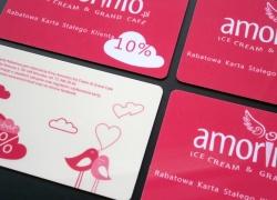 Karty rabatowe dla Amorinio